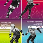 11/17+Rose+City+High+Rollers+vs.+8+Wheel+Assassins+Roller+Derby+Bout%21